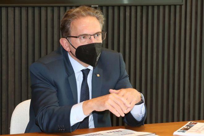 El 'conseller' de Economia i Hisenda, Jaume Giró, en una imagen de archivo.