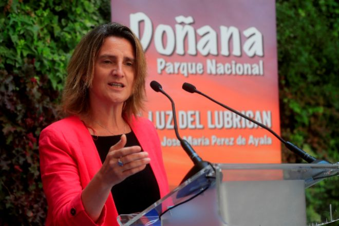 Teresa Ribera, ministra de Transición Ecológica, tiene previsto asistir hoy a Londres a la primera reunión física de la COP26.