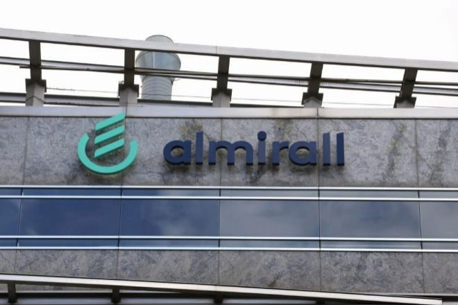 La sede de los laboratorios Almirall está en Barcelona