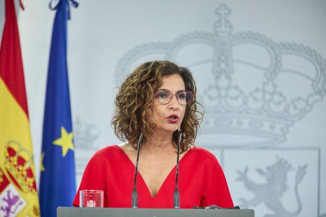 La ministra portavoz del Gobierno y ministra de Hacienda, María Jesús Montero.