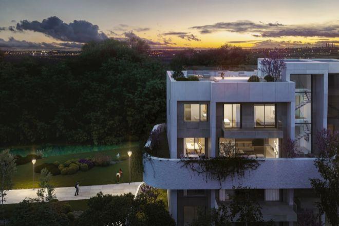 Recreación de una de las villas de lujo que comercializa LaFinca