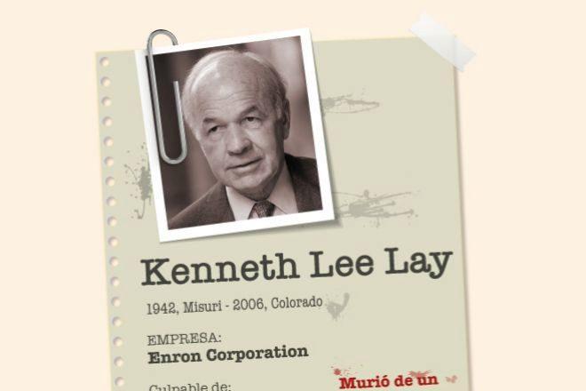 Kenneth Lay: la gran mentira de Enron