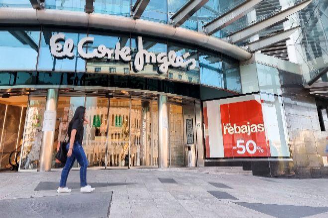El Corte Inglés eleva un 50% las ventas y logra un ebitda positivo de 81 millones entre marzo y mayo