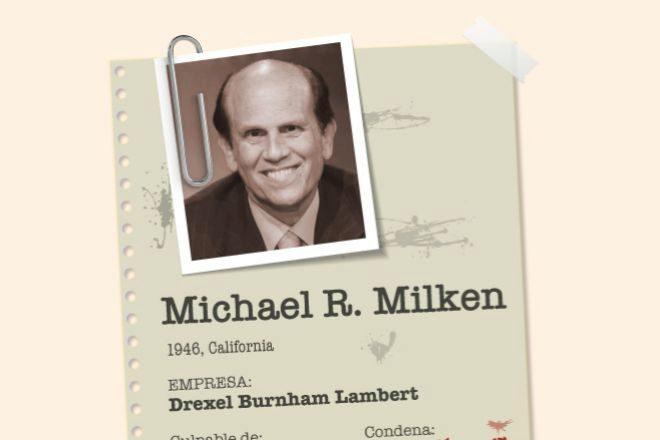 Michael Milken, el rey de los bonos basura