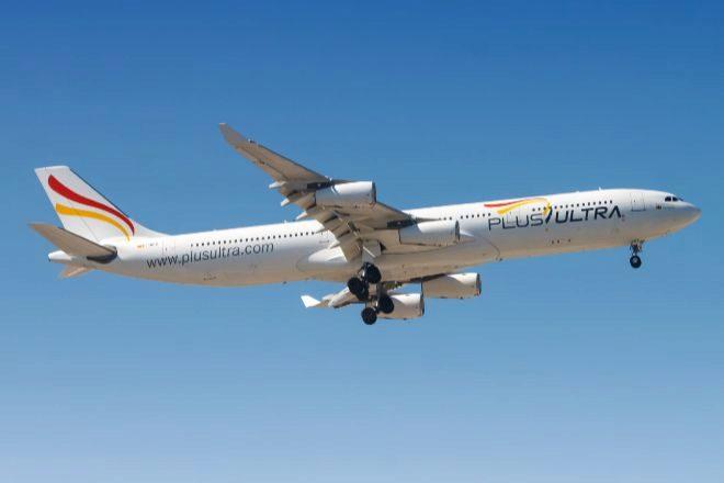 Avión de la aerolínea Plus Ultra.