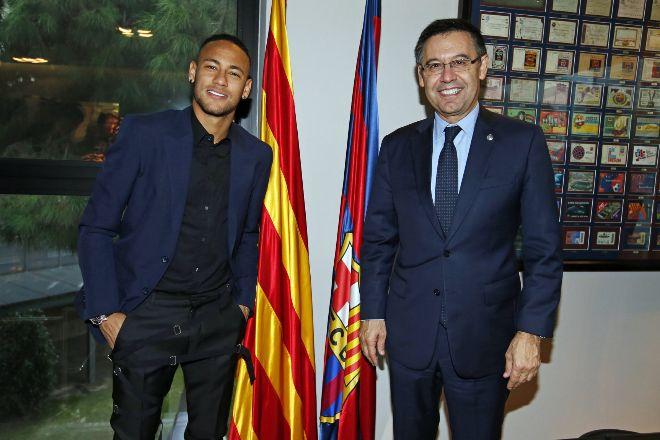 Neymar Jr. y el FC Barcelona ponen fin a cuatro años de litigios