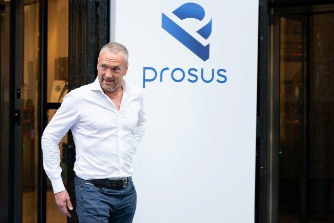 Bob Van Dijk, consejero delegado de Prosus