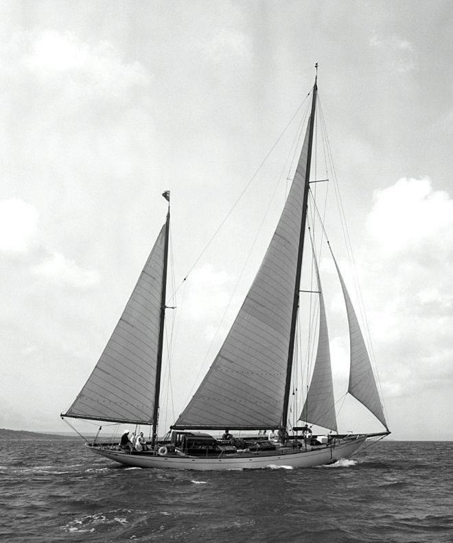 """El """"Eilean"""" en una fotografía de 1956."""