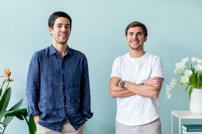 Andrés Cester y Sergi Bastardas, fundadores de Colvin.