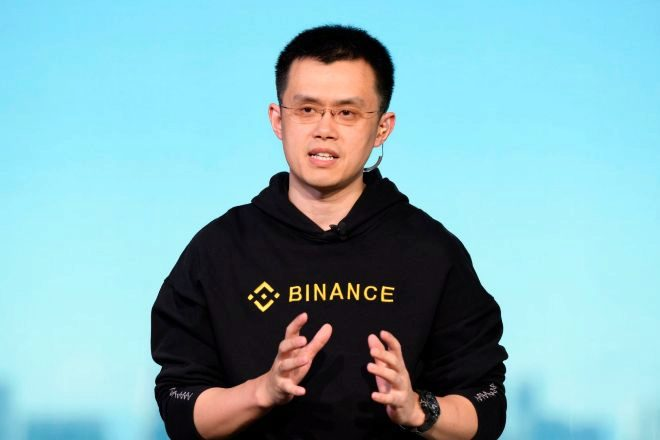 Zhao Changpeng, consejero delegado de Binance.
