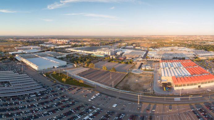 Factoría de Montaje de Renault. Vista aérea.