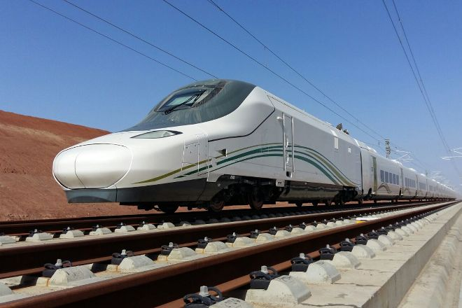 Tren de Talgo del AVE a La Meca.