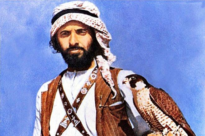 """Zayed bin Sultan Al Nahyan es conocido como """"el Sabio"""" entre los árabes."""