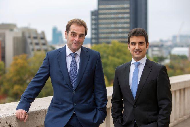 Borja García-Egotxeaga, CEO de Neinor, y Jordi Argemí, CEO adjunto y director general financiero