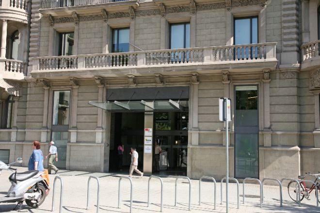 Sede del ICF, en la Gran Via de Barcelona.