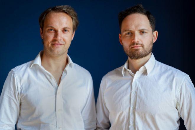 Thomas Antonioli  y Michael Cassau, CFO y CEO, respectivamente, de Grover