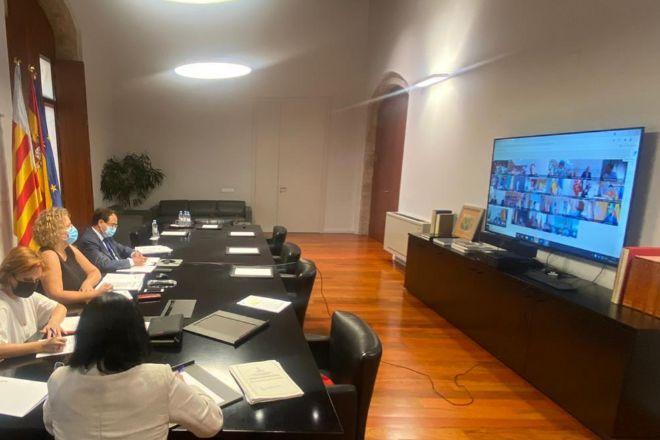 El Consejo de Política Fiscal y Financiera se ha reunido de manera telemática.