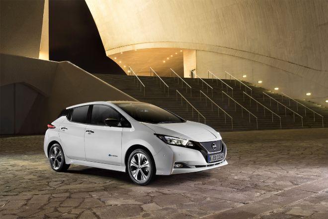 Coche eléctrico Nissan LEAF..