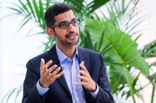 Sundar Pichai, CEO de  Alphabet.