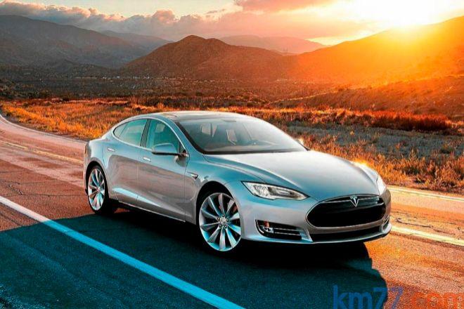 Un modelo Tesla, convertido en icono del coche eléctrico.