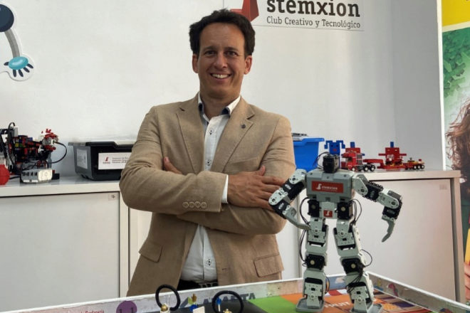 Javier Butragueño, responsable de Stemxion.