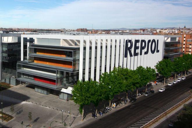 Sede corporativa de Repsol, en Méndez Álvaro.