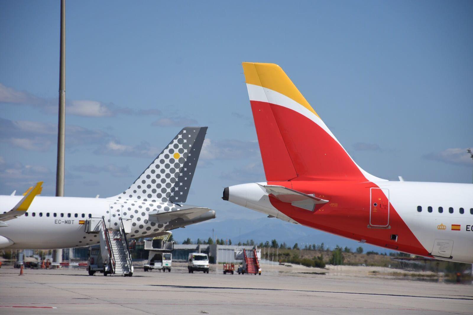Iberia y Vueling son las dos filiales españolas de IAG.