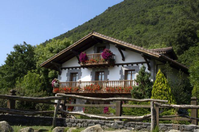 Una casa rural en Vizcaya.