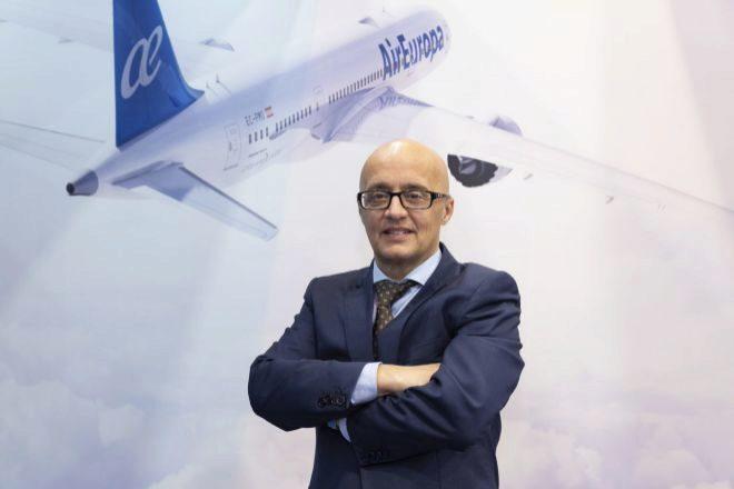 Richard Clark, director general de Air Europa.