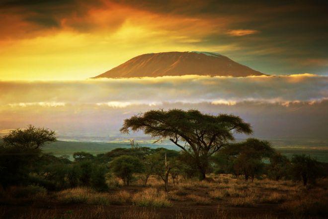 Monte Kilimanjaro, en Tanzania, África
