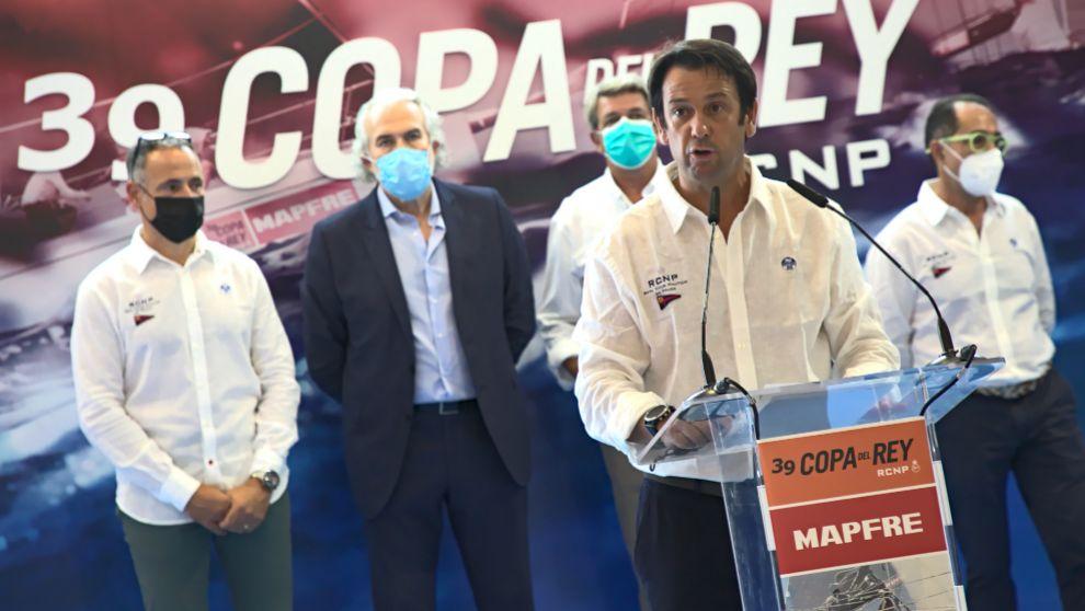 Manuel Fraga, director de la regata de la Copa del Rey Mapfre.