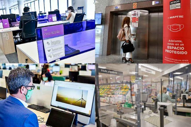 Así será el regreso a la oficina de Iberdrola, Mapfre. PwC, Mercadona y KPMG