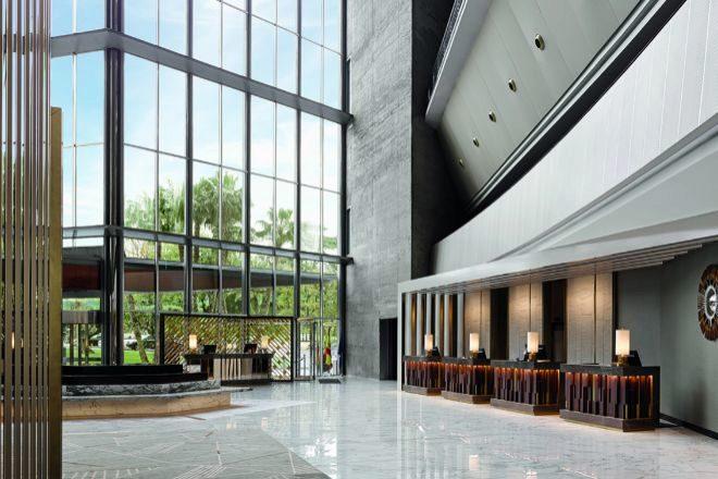 Vestíbulo del Hotel Juan Carlos I.