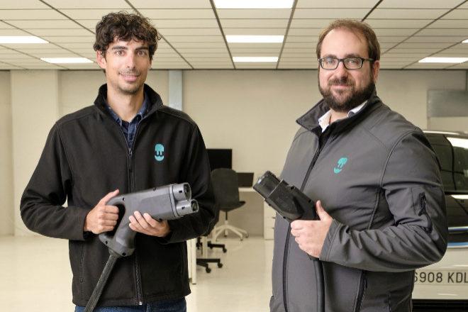 Eduard Castañeda y Enric Asunción, cofundadores de Wallbox.