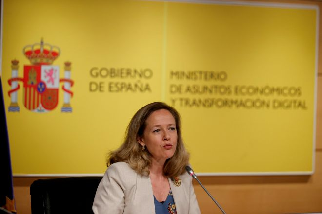 Nadia Calviño, vicepresidenta y ministra de Asuntos Económicos.