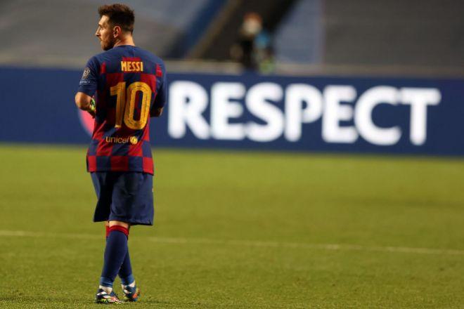El Barça pierde a Messi, su leyenda viva