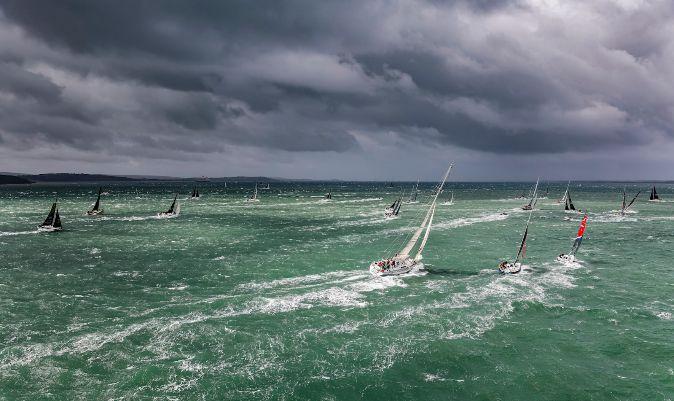 Parte de la flota, hacia Solent. | C. BORLENGHI