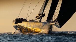El 'Skorpios, a su llegada a meta en la Rolex Fatnet Race. | PAUL...