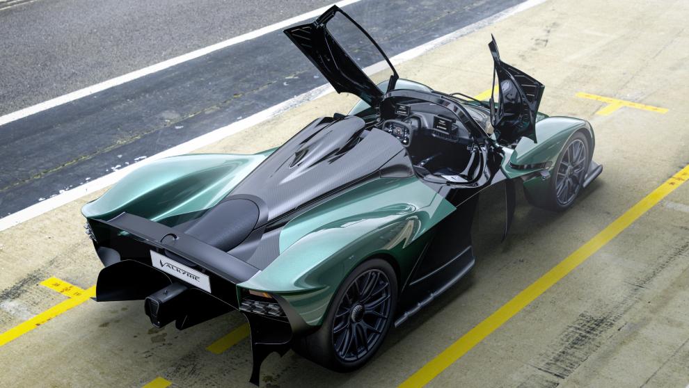 El nuevo Valkyrie Spide es capaz de alcanzar una velocidad máxima...