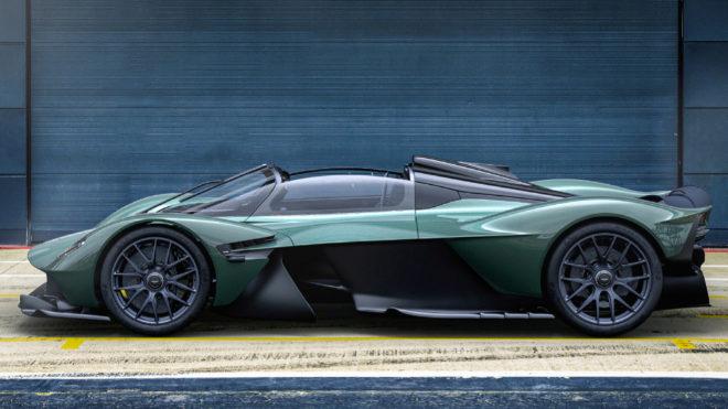 Aerodinámica, chasis, habitáculo... todo se ha modificado en el nuevo Valkyrie Spider.