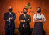Equipo Ambivium: de izquierda a derecha, David Robledo, director de...