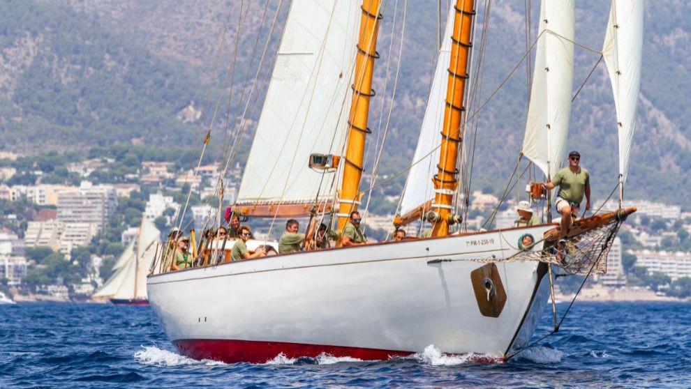 El 'So Fong', durante la XXVI Regata Illes Balears...
