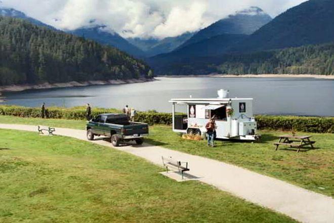 """Una de las localizaciones donde está rodada """"Un lugar para soñar"""", en la Columbia Británica."""