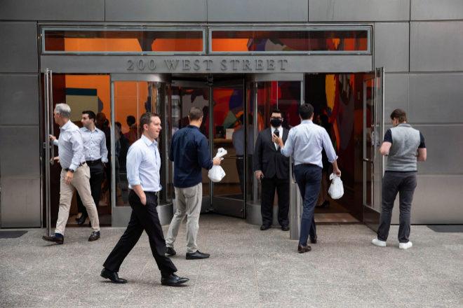 Goldman Sachs tiene unos 36.000 empleados en todo el mundo, buena parte de ellos en Estados Unidos.