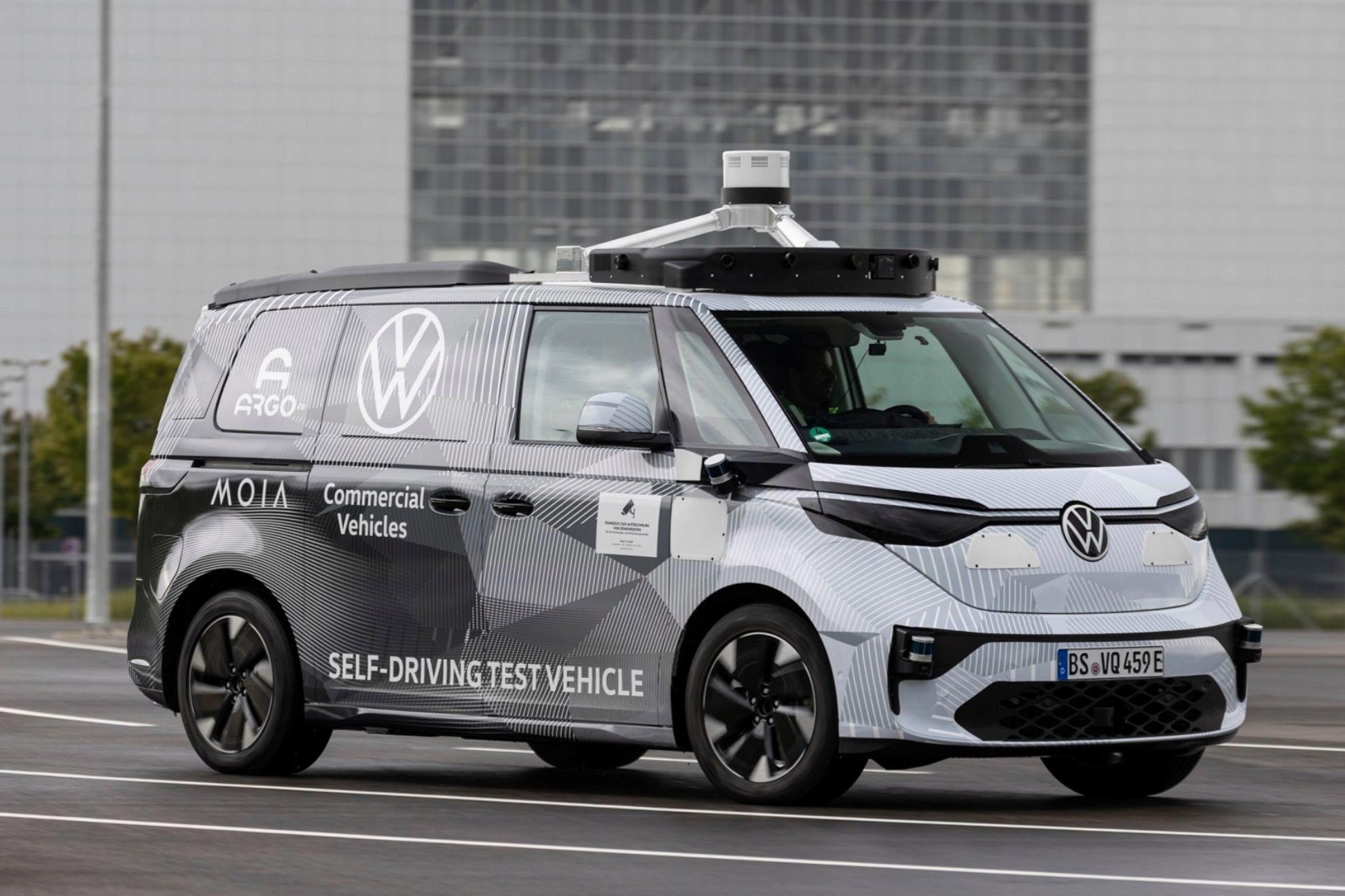 volkswagen id buzz, salón de munich, iaa mobility, coches eléctricos