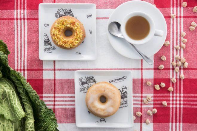 Donut de cocido en dos vuelcos.