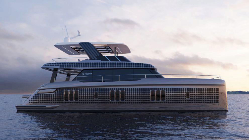 La embarcación Sunreef Power 60 Eco que ha adquirido Fernando Alonso.