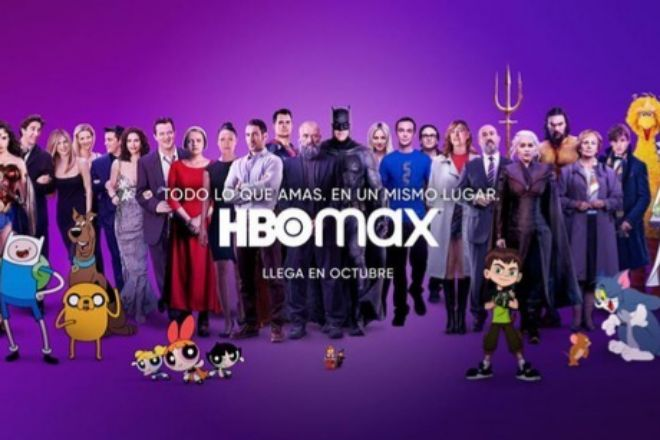 Imagen promocional de HBO Max.