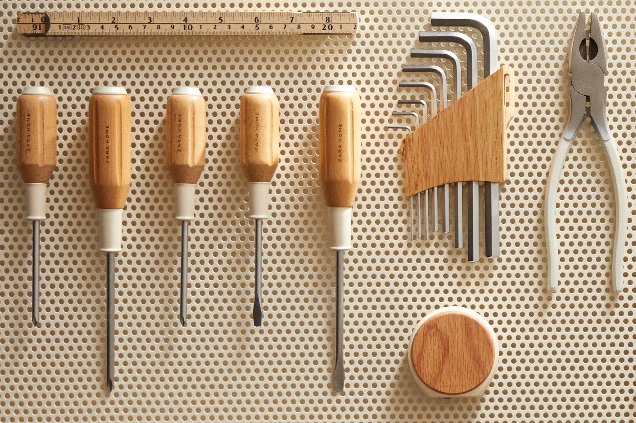 La nueva colección Tools de Zara Home incluye las herramientas...