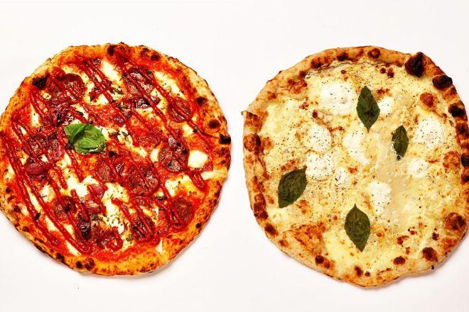 Pizzas Arde Madriz y Formaggio de Napoli Gang.